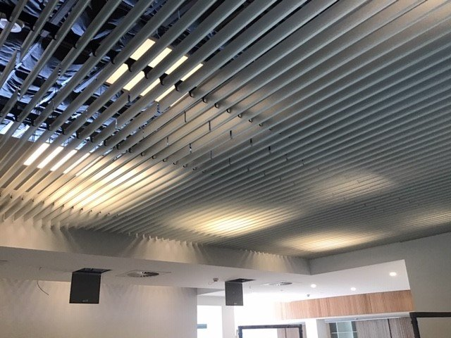Screen Ceiling - Open Ceiling - Hunter Douglas Architectural Products - Supplied in Australia and New Zealand by Concept Metal Ceilings